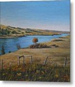 South Saskatchewan River Metal Print