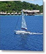 South Sea Sail Metal Print