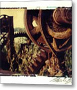 South Side Machine Detail 2 Metal Print