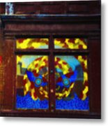 South Street Window Metal Print