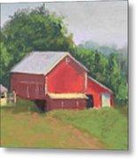 South View Of Meyer Farm Metal Print