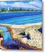 Southampton Dunes Metal Print