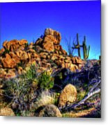 Southbound On Us 93 Metal Print