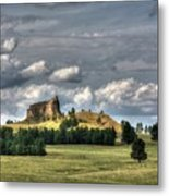 Belltower Butte Metal Print