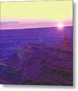 Southeastern Utah Sunset 2 Metal Print