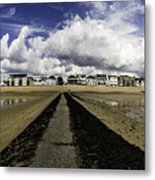 Southend On Sea Panorama Metal Print