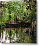 Plantation Living Metal Print