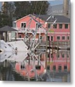 Southern Lady At Rest  Metal Print