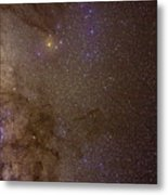 Southern Milky Way Metal Print by Charles Warren