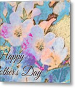 Southern Missouri Wildflowers -1 Mother's Day Card Metal Print