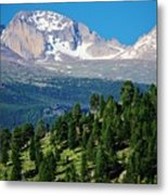 Southern Rockies Summer Mountains Metal Print