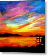 Southern Sunset Metal Print