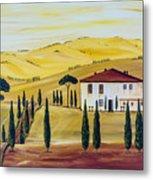 Southern Tuscany Metal Print