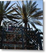 Southernmost Hotel Entrance In Key West Metal Print