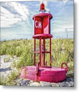 Southernmost Point Buoy- Cape May Nj Metal Print