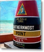 Southernmost Point Metal Print