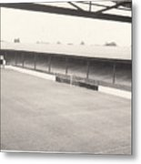 Southport Fc - Haig Avenue - Scarisbrick End 2 - Bw - Early 60s Metal Print
