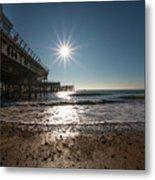 Southsea Pier Metal Print