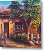 Southwest Adobe Metal Print