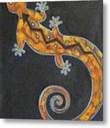 Southwest Lizard Metal Print