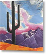 Southwest Skies 2 Metal Print