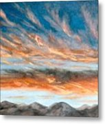 Southwest Sunset Metal Print