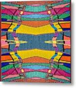 Southwestern Rug Metal Print