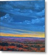 Southwestern Sunset Metal Print