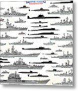 Soviet Navy Metal Print