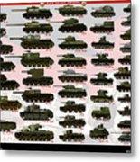 Soviet Tanks Ww2 Metal Print