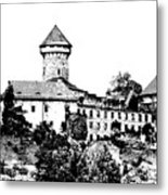 Sovinec - Castle Of The Holy Order Metal Print