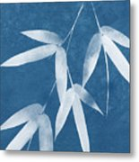 Spa Bamboo 1-art By Linda Woods Metal Print