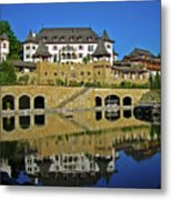 Spa Resort A-rosa - Kitzbuehel Metal Print by Juergen Weiss