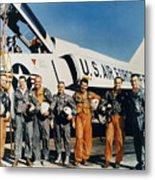 Space: Astronauts, C1961 Metal Print