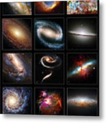 Space Beauties Metal Print