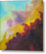 Space Cloud Metal Print