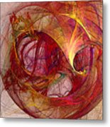 Space Demand Abstract Art Metal Print