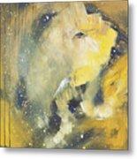 Space Elephant Metal Print