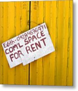 Space For Rent Metal Print