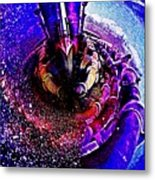 Space In Another Dimension Metal Print