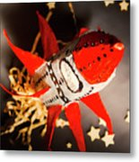 Space Launch To Seek And Discover Metal Print