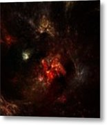 Space Nebula 2 Metal Print