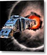 Space Pirates Metal Print