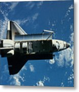 Space Shuttle Challenger Metal Print