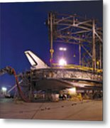 Space Shuttle Endeavour Metal Print
