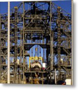 Space Shuttle Endeavour Edwards Air Force Base Metal Print