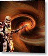 Space Soldier Metal Print