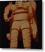Space Suit Metal Print