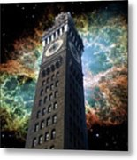 Space-time Metal Print