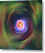 Space Time Sequence Metal Print